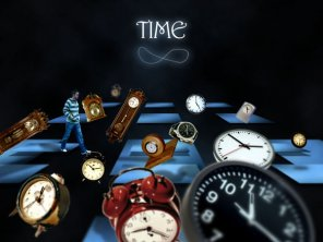 Create an Elaborate Photo Manipulation Around the Theme of Time