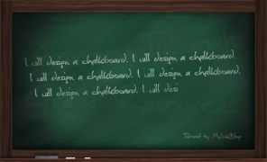 Design a Realistic Chalkboard in Photoshop
