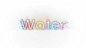 Design a Super Sleek Text Effect with Water Drop Texture