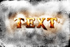 Design a God of War III Inspired Cracked Text Effect in Photoshop
