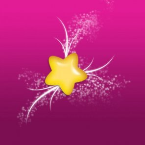 Draw a Cute Glossy Star via 3 Easy Steps in Photoshop