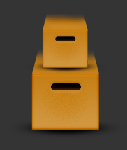Create Cardboard Box in Photoshop