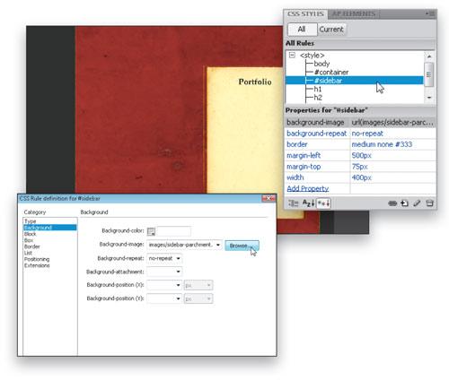 Add  Depth and Dimension in Dreamweaver CS4 image 8