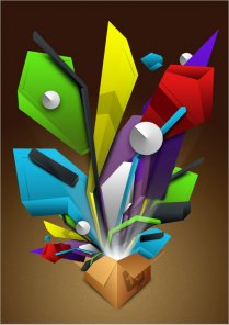 Create Abstract Fake 3D Objects in Photoshop