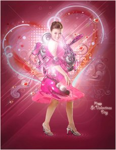 St Valentine's Day Photo Manipulation (Exclusive Tutorial)