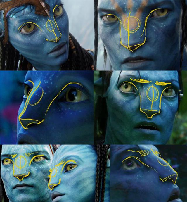 Angelina Jolie as a Na'vi from Avatar Movie | Photo Editing