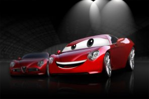 Create a Cartoon Car Design