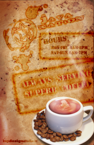 Coffee Stained Poster Photoshop Tutorial
