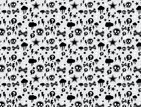 pattern design black and white. View full size pattern design