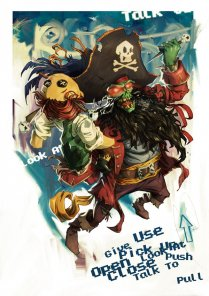 Digital Painting Lesson: Monkey Island