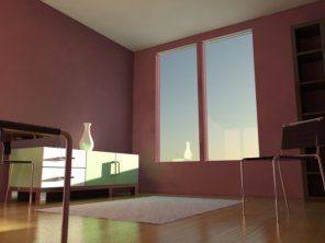 Tutorial:Interior Lighting with Mental Ray