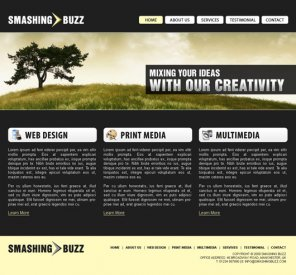 Corporate Business Website Design Tutorial
