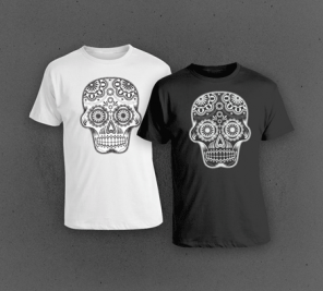 How To Create a Detailed Vector Sugar Skull Illustration