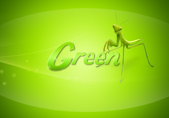 How to make simple gree wallpaper in photoshop