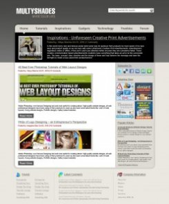 Create Professional Blog Layout Design Using Photoshop