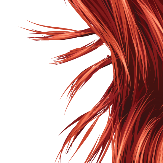 hair vector - photo #34