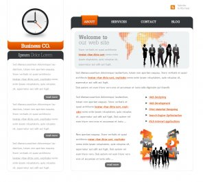 Create a web 2 0 business layout