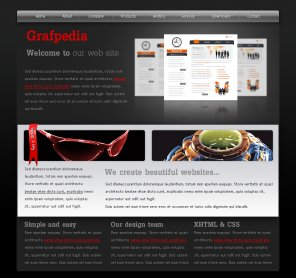 Create an Awesome Black Portfolio Layout