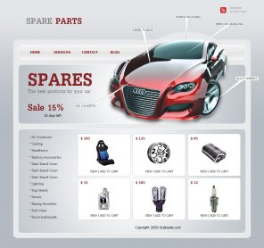Create an Ecommerce Web Layout