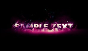 Design Glowing Particle Text Effect with Liquify Filter in Photoshop