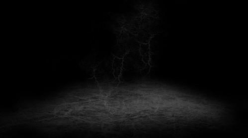 create a mysterious dark horror scene with crack brushset