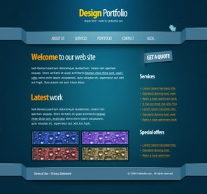 Create a Clean PSD Layout with a 3D Look