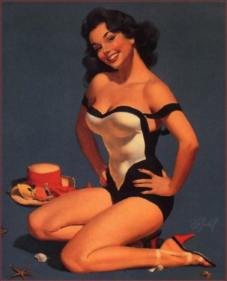 Pin Up Art. Pin-Up as a Part of American