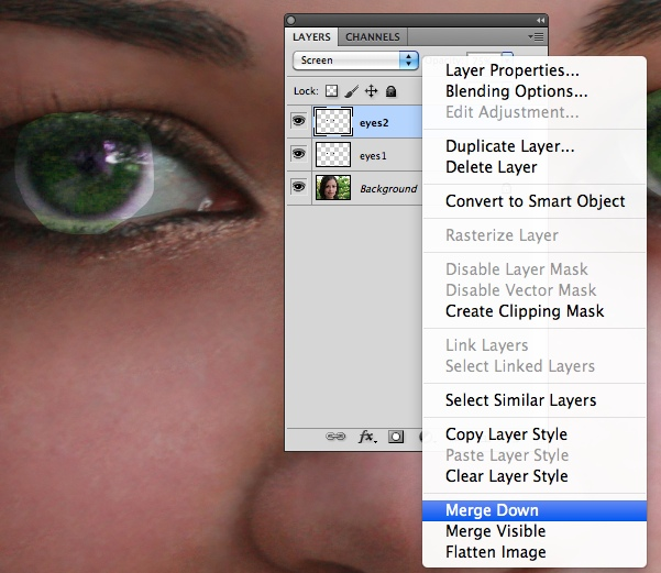how to change brush colour adobe ps