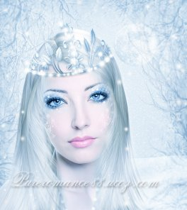 The Winter Queen - Fantasy Photo Manipulation