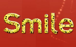 Smilies Text Effect