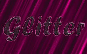Glittering Text Effect