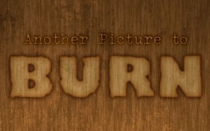Burn Text Effect