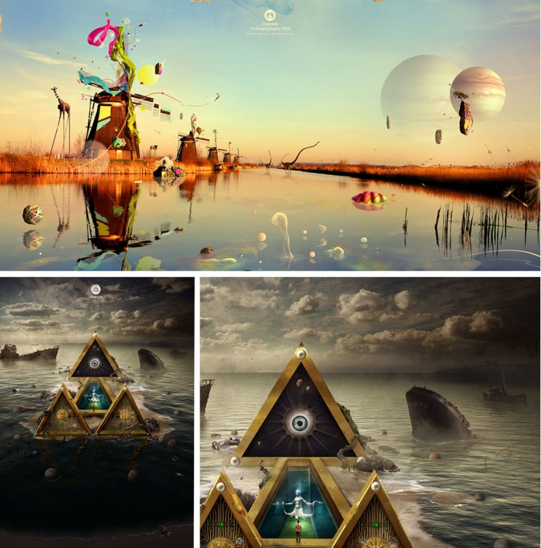 Photo Manipulation - Surreal Bubbles