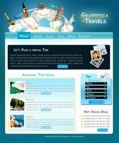 Let's Create a Cool Travel Agency Layout