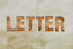 How to Create a Grunge Letterpress Text Effect In Photoshop