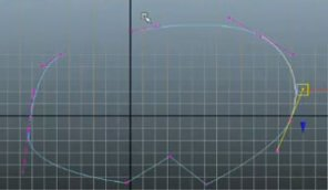 Creating Bezier Curves in Maya
