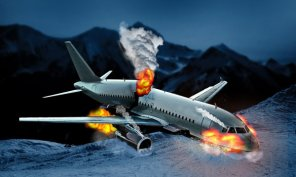 Learn How to Create a Plane Crash in Photoshop