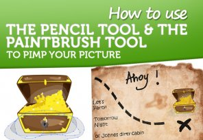 How to Use The Pencil Tool and The Paintbrush Tool to Pimp Your Picture