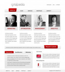 Create a Business Web Template