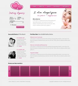 Design a Dating Layout