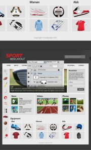 How to Create a Sport Web Layout