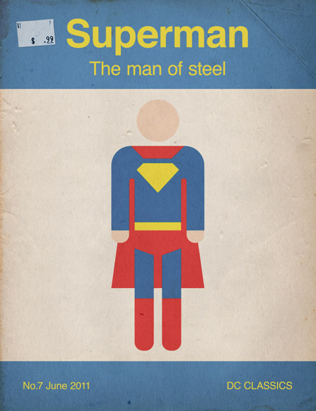 Book Cover Design Illustrator : How to create a retro style superman book cover adobe