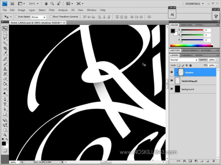 Calligraphy With Photoshop And Illustrator Adobe Illustrator