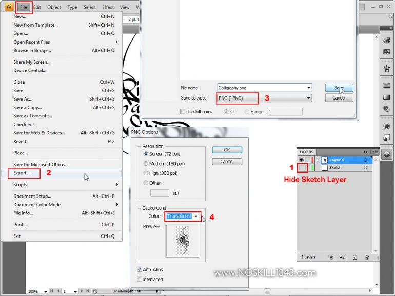 export photoshop 2017 layers to pdf