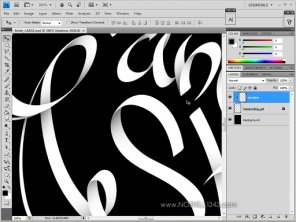 Calligraphy with Photoshop and Illustrator