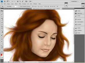 Photoshop digital painting tutorial melodic part1