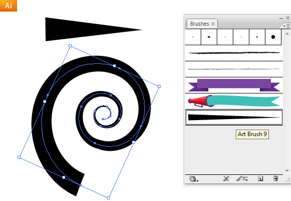 how to open brushes panel in illustrator