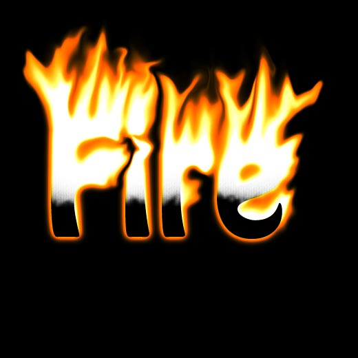 Well explained fire text effect tutorial in photoshop