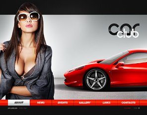 Round up of an Amazing Car Web Designs and Templates