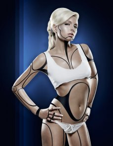 Create a Human Robot Hybrid in Photoshop